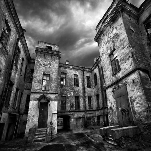 Макс Сухомлин: Питерский городской пейзаж