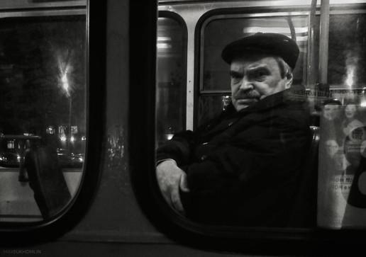 Макс Сухомлин: Серия «Течение» - жанровое фото
